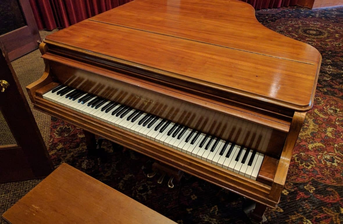 Piano at the Los Angeles Athletic Club